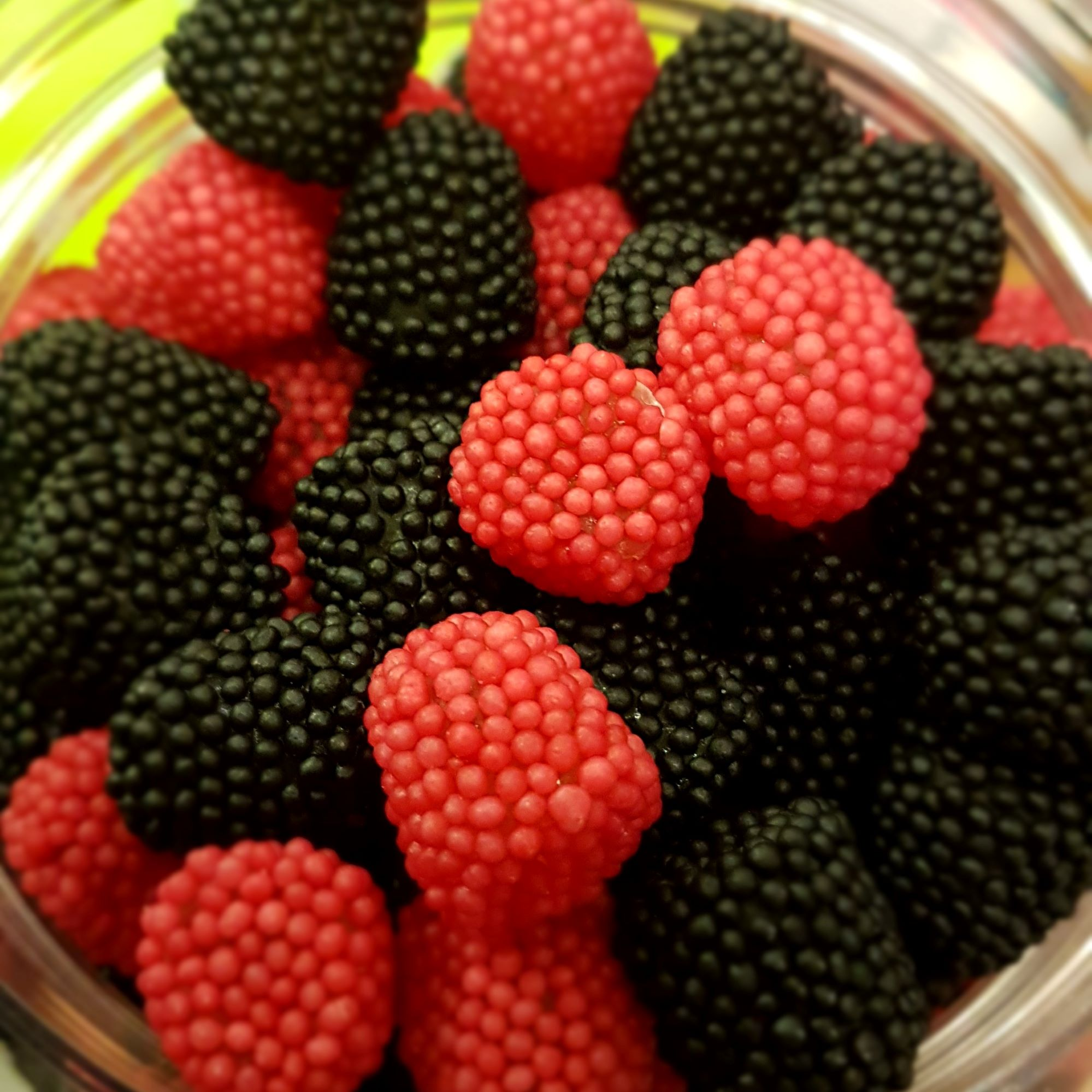 Black & Raspberry Berries