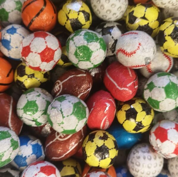 Chocolate Sports (football) Balls