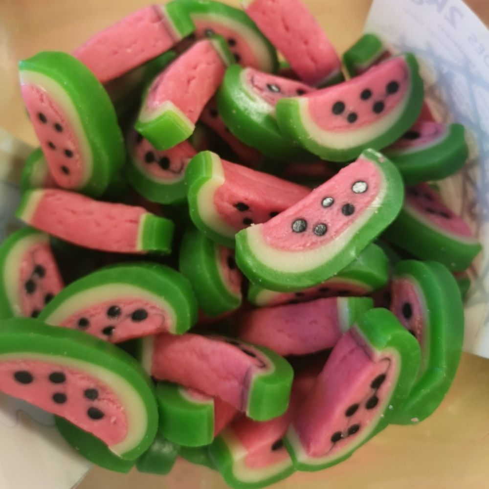 Gummy Watermelon Slices