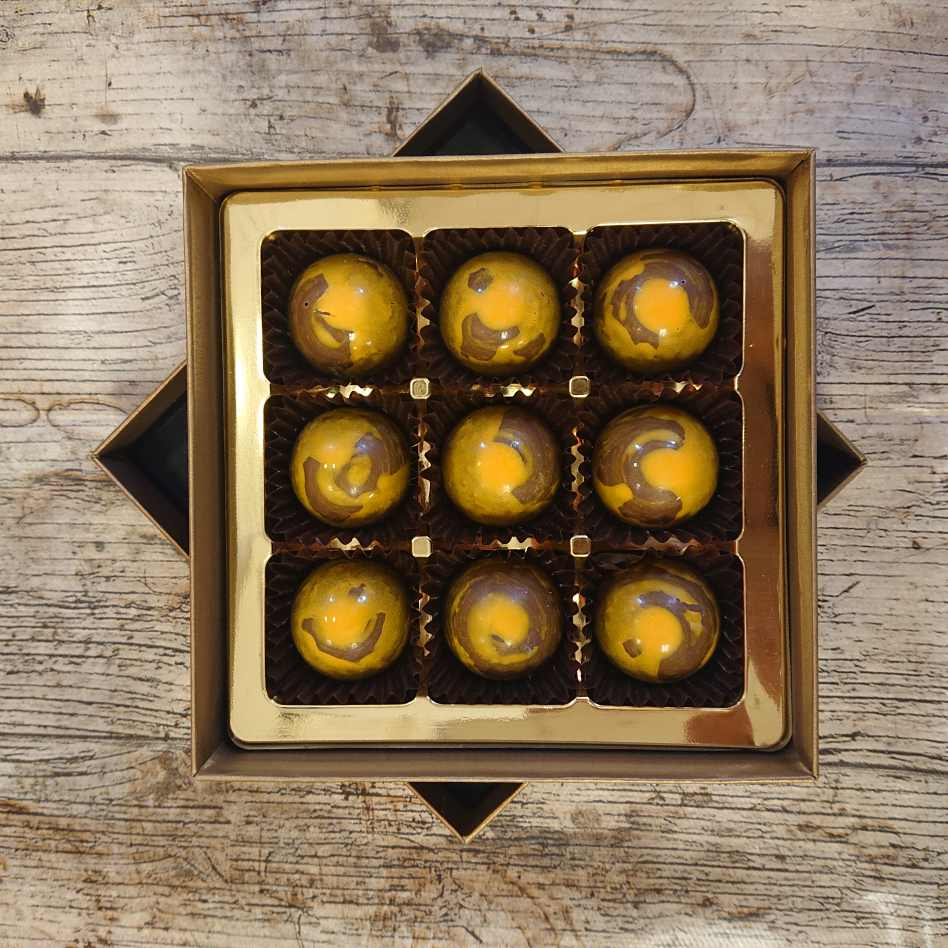 Bannoffee Caramel (9 Chocolate Box)