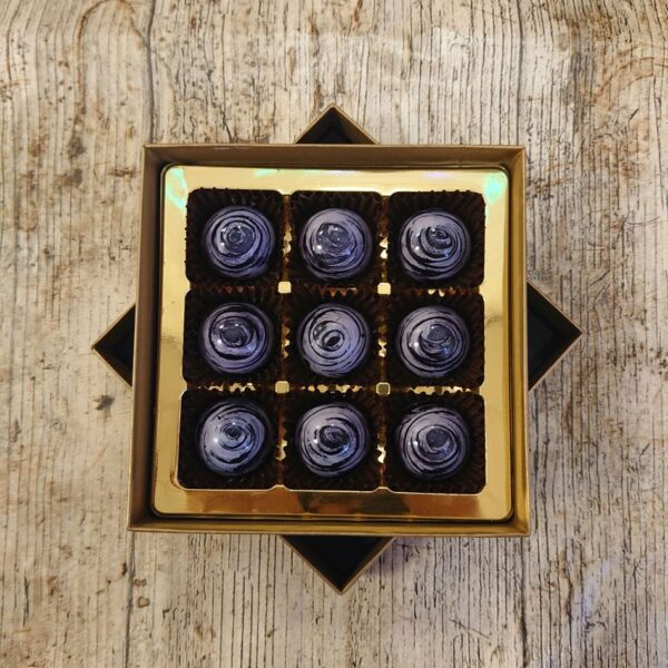 Dark Violet Fondant Cream (9 Chocolate Box)