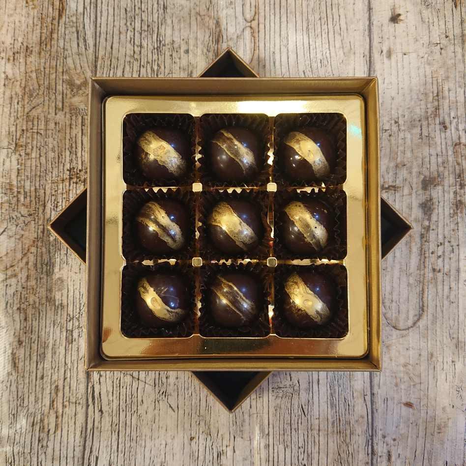 Coffee Mocha Box (9 Chocolate Box)