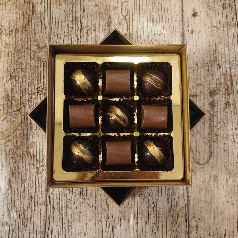 Small Coffee Selection Box (9 Chocolate Box)