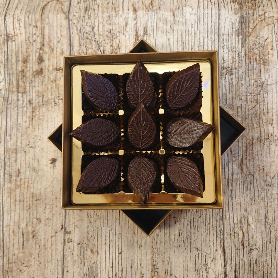 Dark Mint Fondant (9 Chocolate Box)