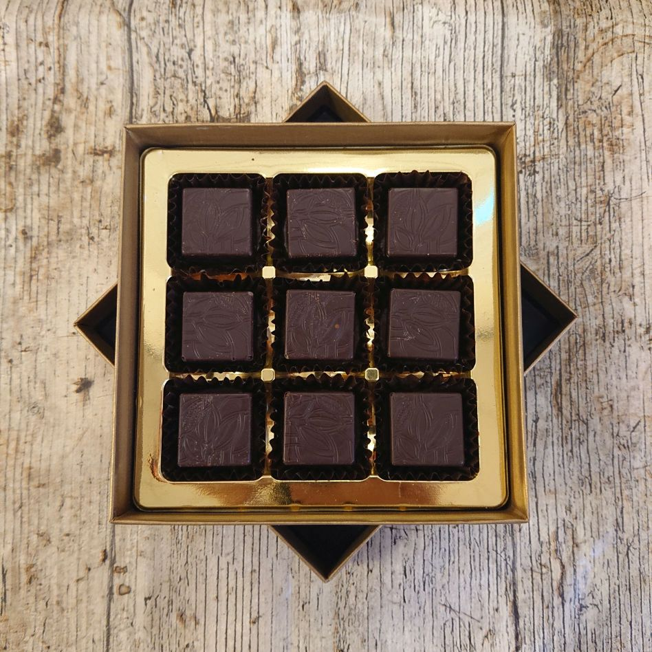 Dark Strawberry Fondant (9 Chocolate Box)