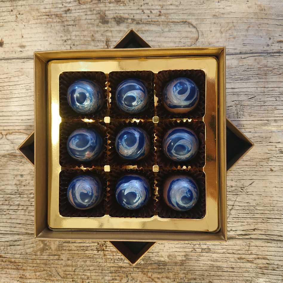 Managascan Blue (9 Chocolate Box)