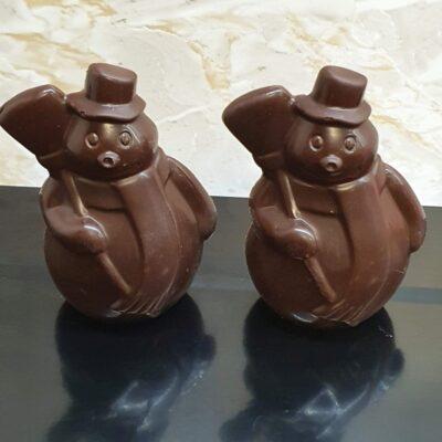 Dark Snowman Hot Chocolate