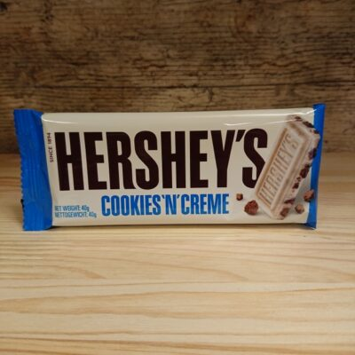 Hershey Bar Cookie & Cream