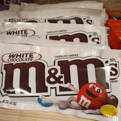 M&M White Chocolate