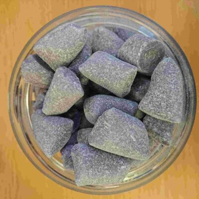 Blackcurrant & Liquorice Humbugs