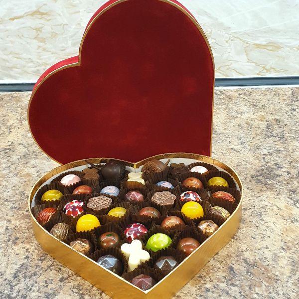 Valentines Day Heart Box