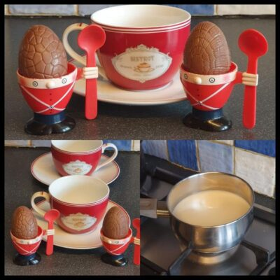 Hot Chocolate Egg Bombs